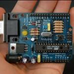 Foto des Arduino (von der Seite entnommen)