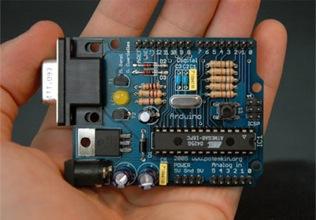 Arduino Duemilanove mit ATmega328 aufgewertet