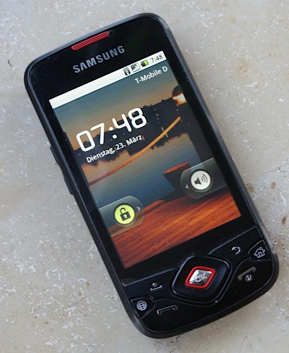 Mein neues Mobiltelefon – Samsung Galaxy Spica
