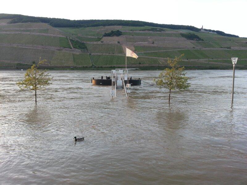 Hochwasser Rollertour