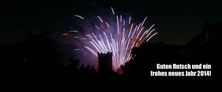 Guten Rutsch und ein frohes neues Jahr 2014