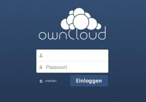 ownCloud Login