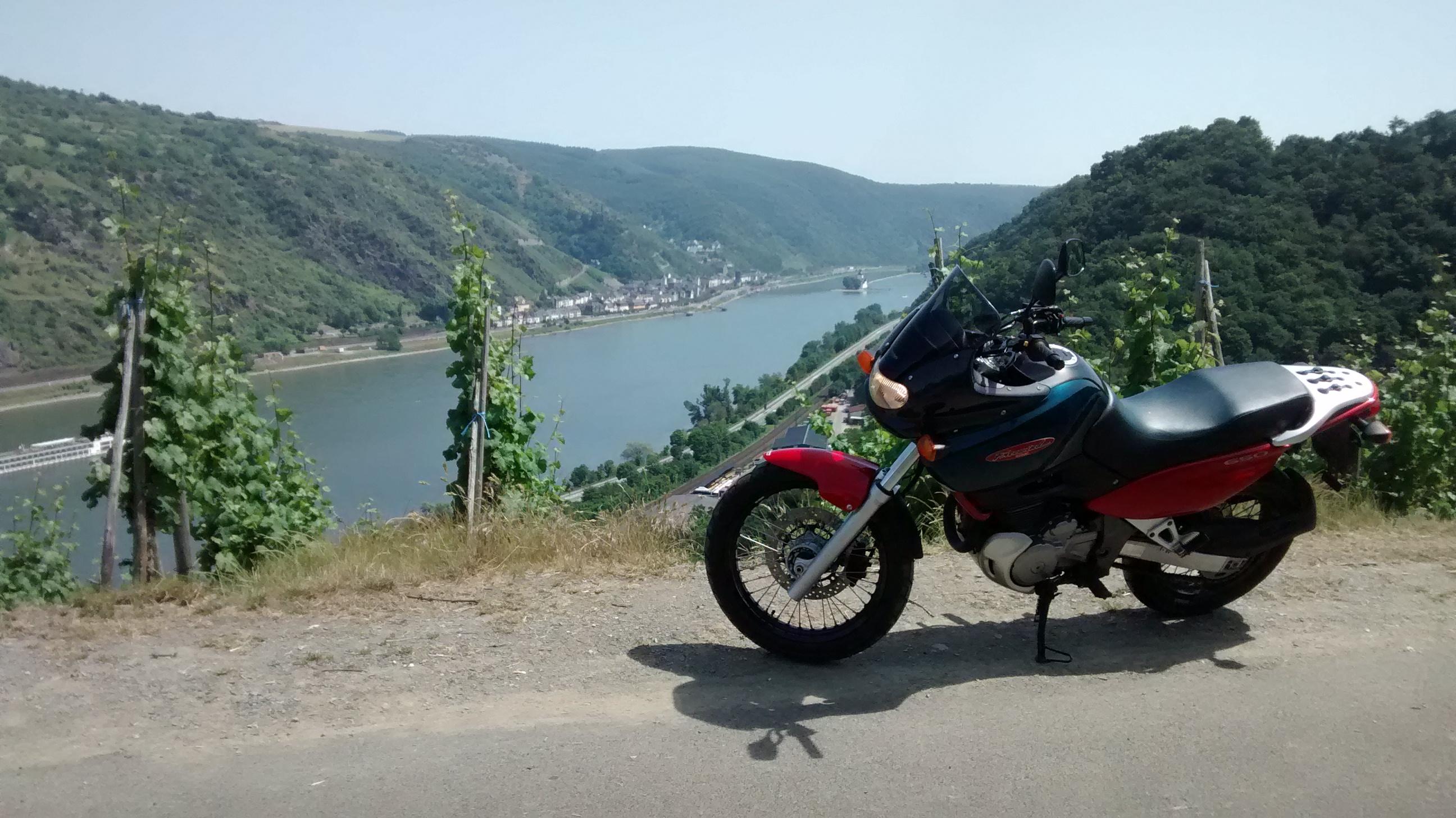 Mittelrheintal – Kleine Motorradausfahrt