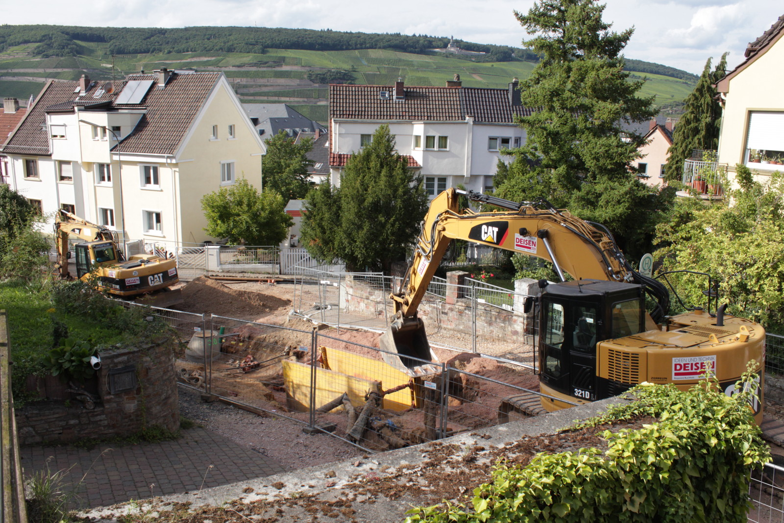 Baustelle – Waldstraße – Bingen am Rhein