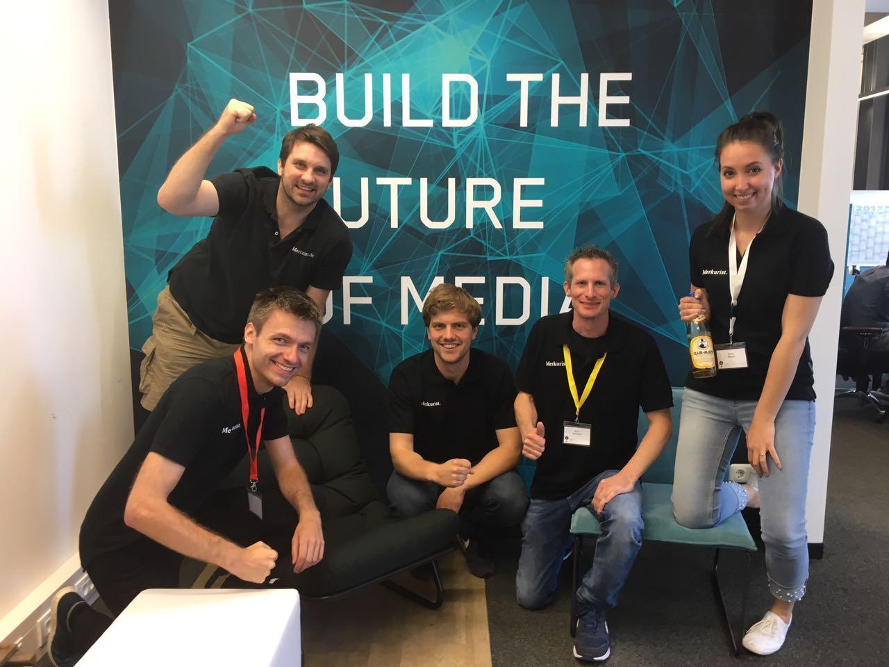 Merkurist Team gewinnt t3n Hackathon