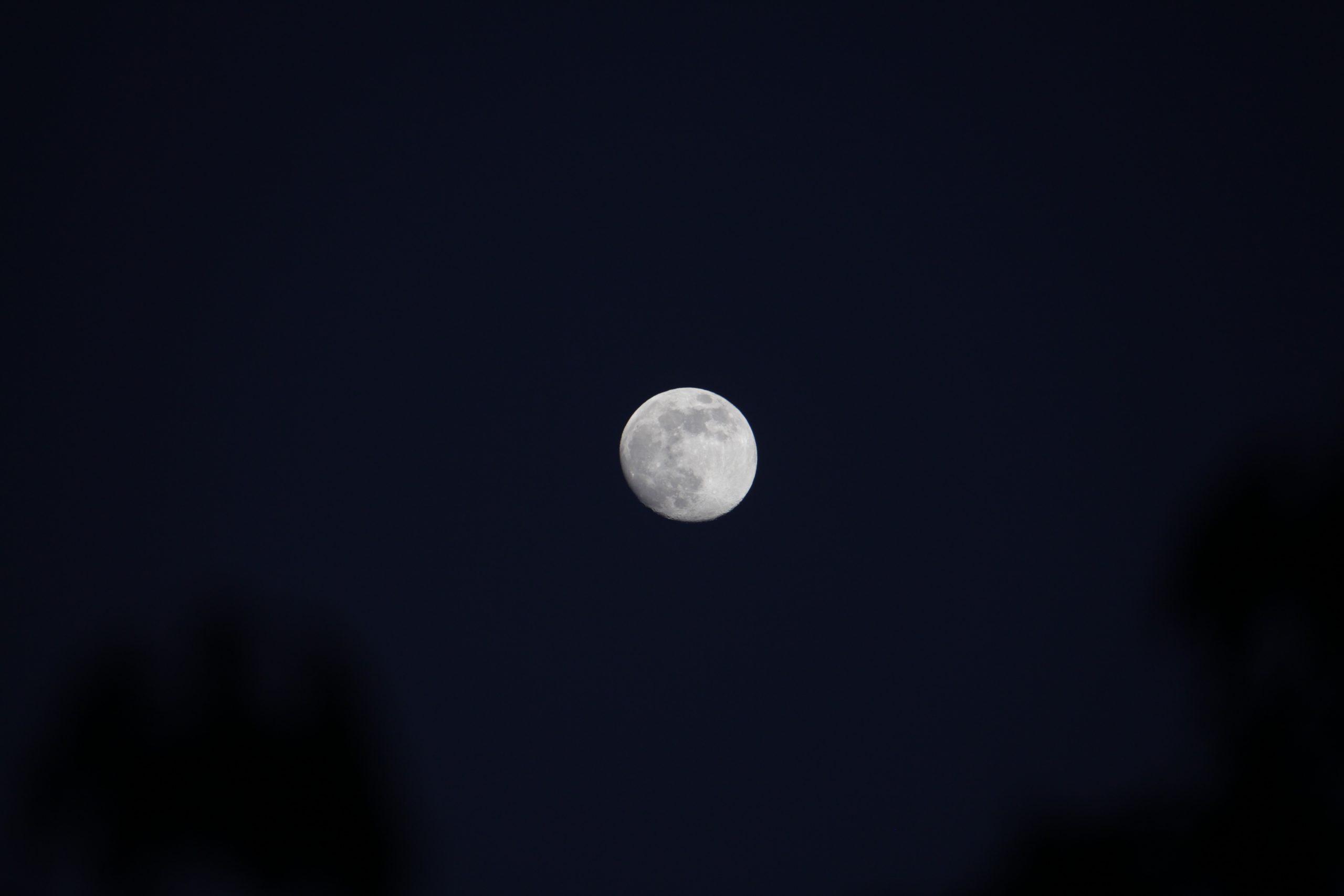 Der Mond über Bingen