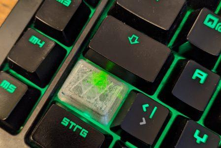 Razor Tastatur repariert